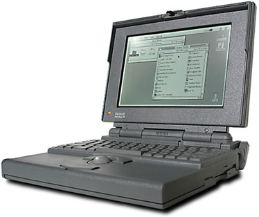 Macintosh Powerbook 170 from 1991.