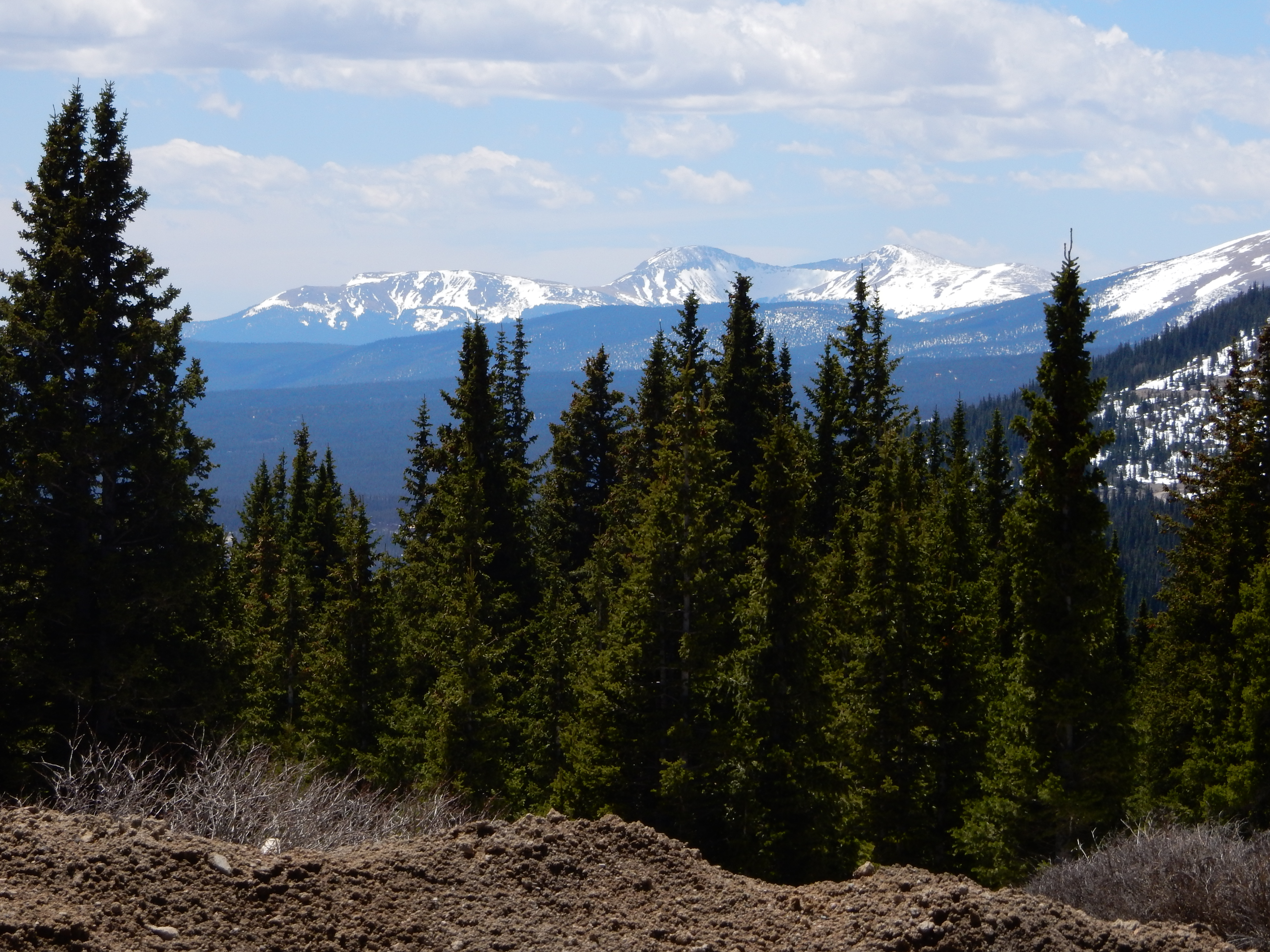 A view south from Hoosier Pass.