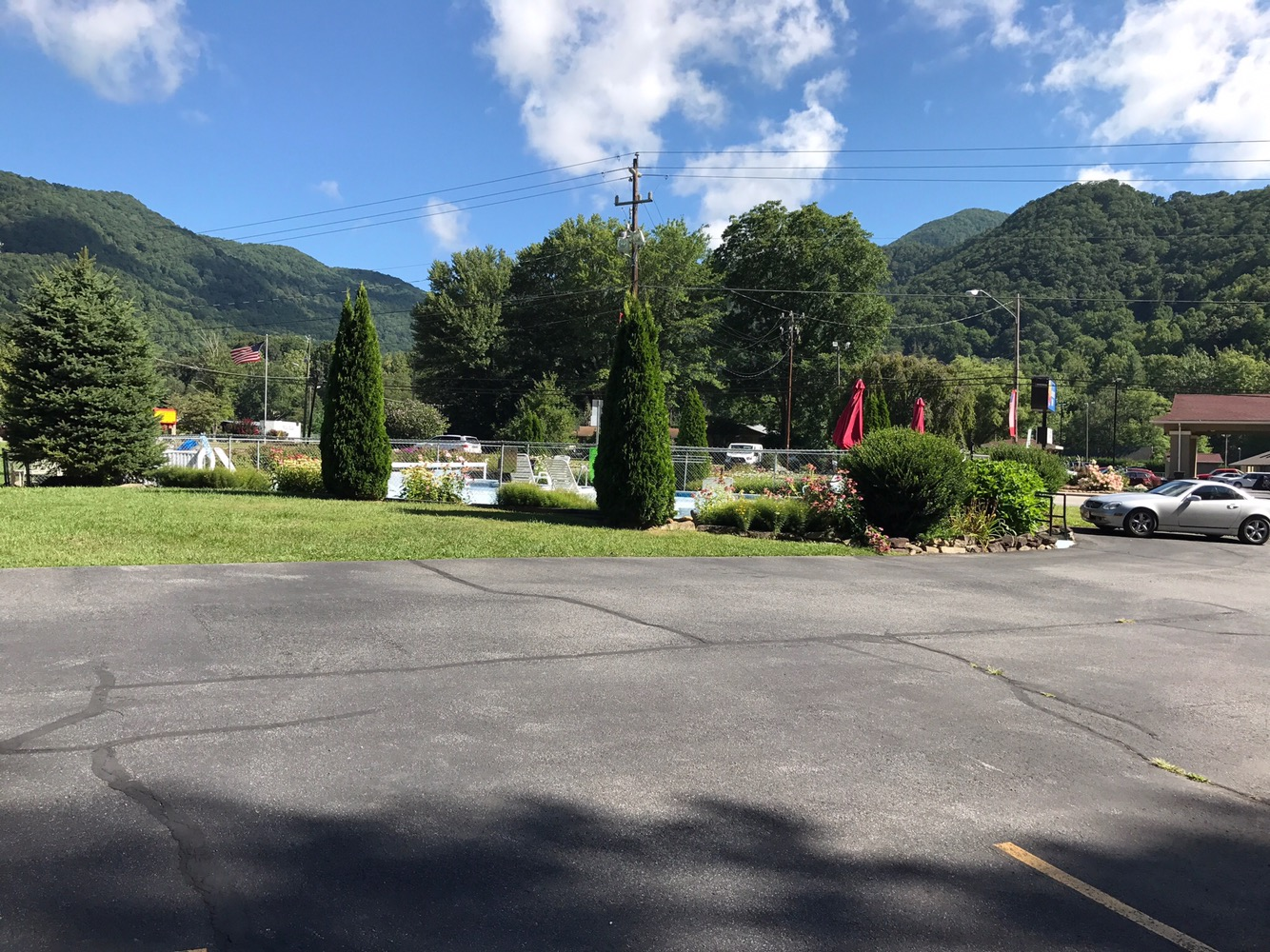 View from the motel.