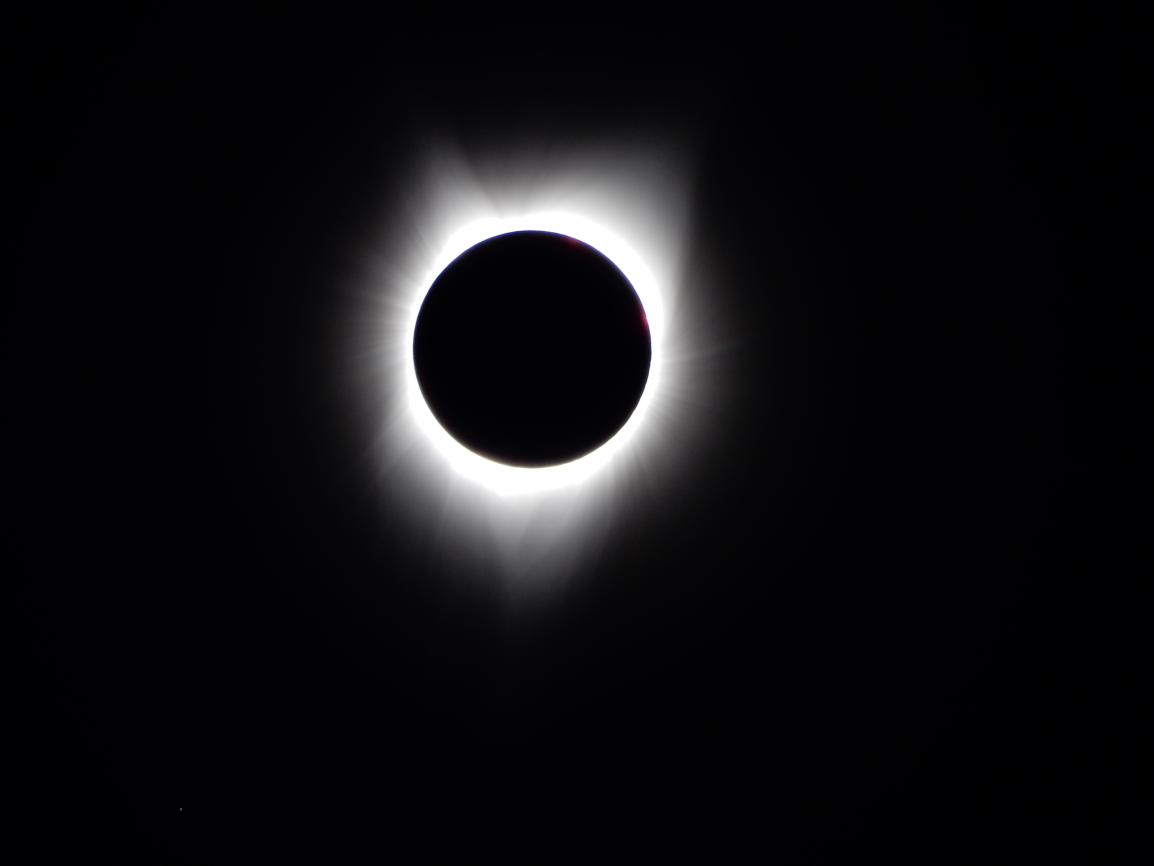 Totality, solar filter removed.