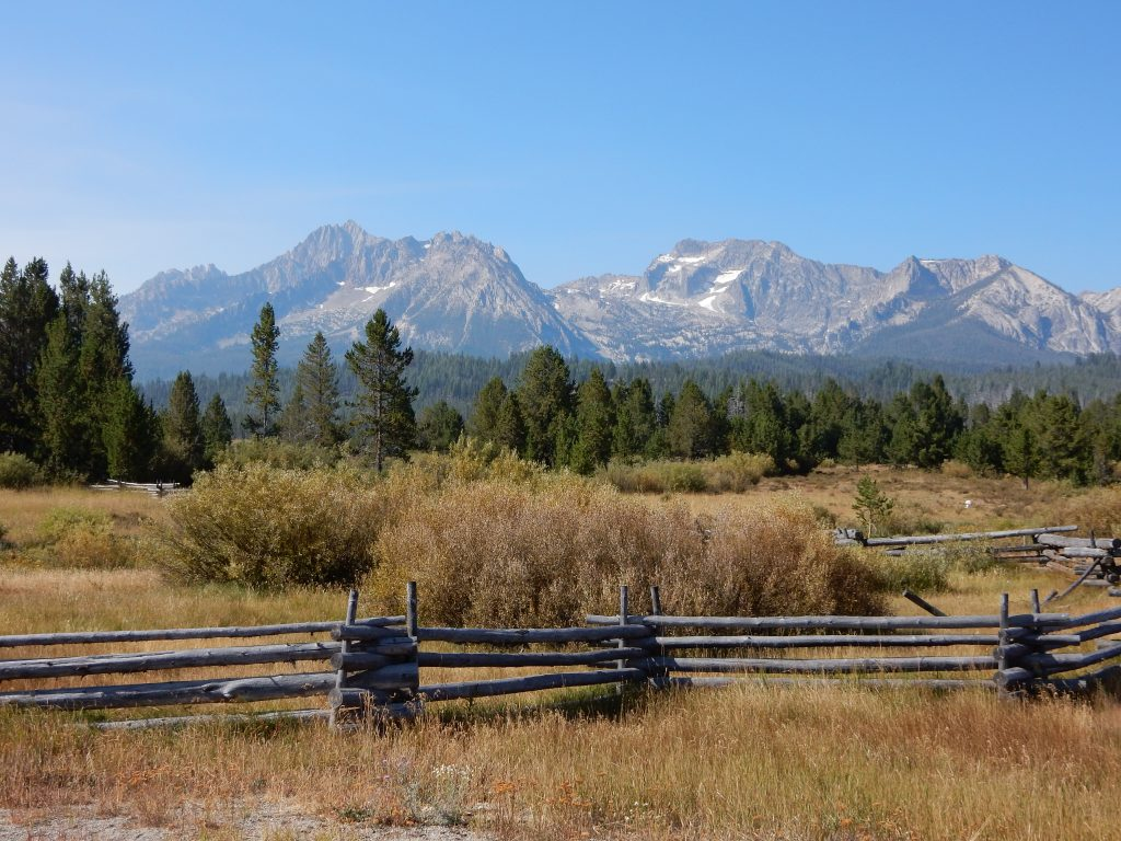 The Sawtooth Mountain range in Idaho.The Sawtooth Mountain range in Idaho.