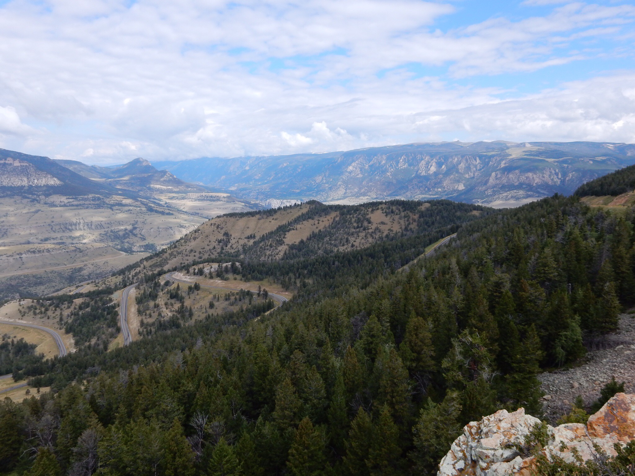 A few west from a pass on the Chief Joseph Scenic Byway.