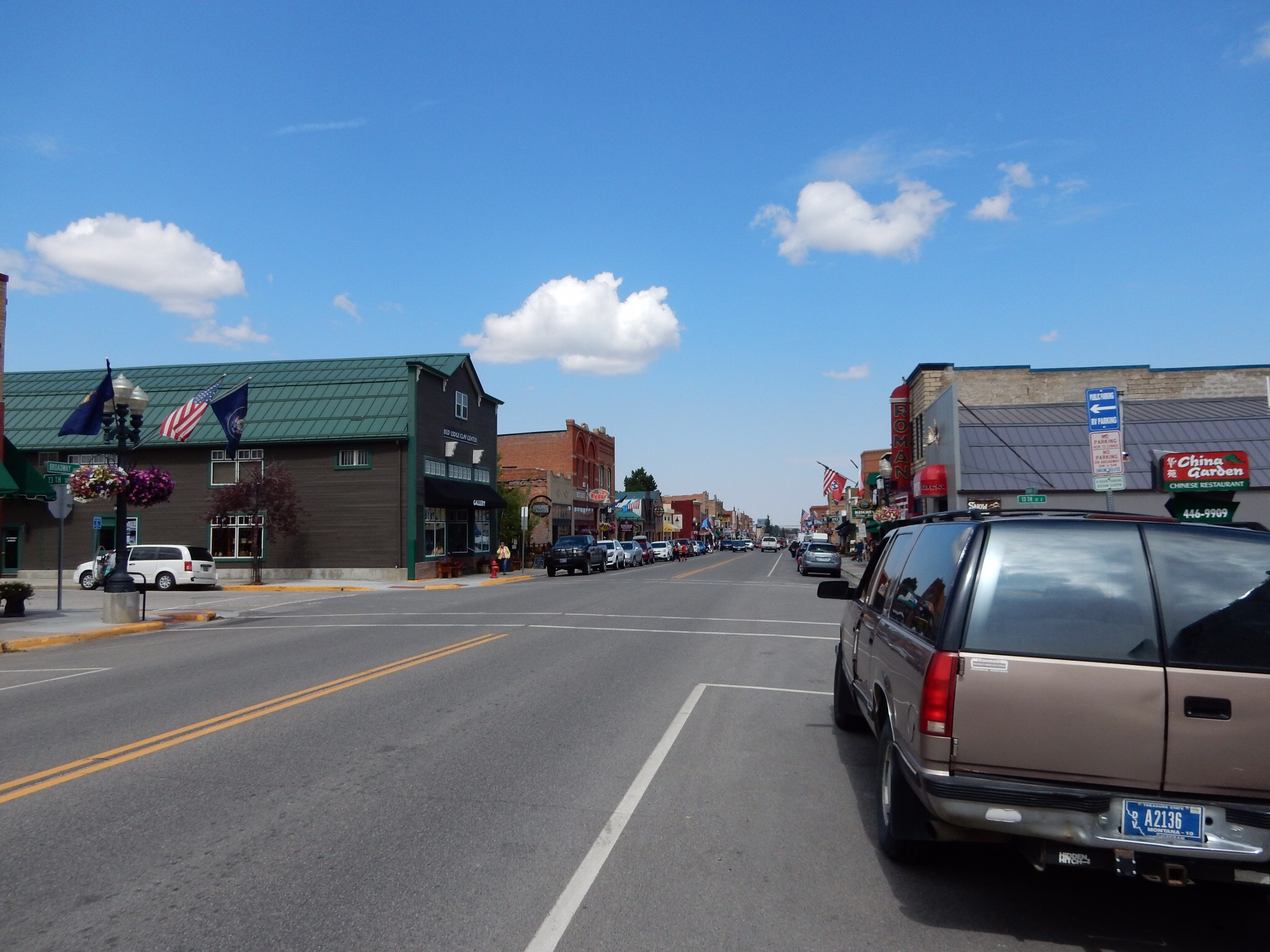 Downtown Red Lodge, Montana.