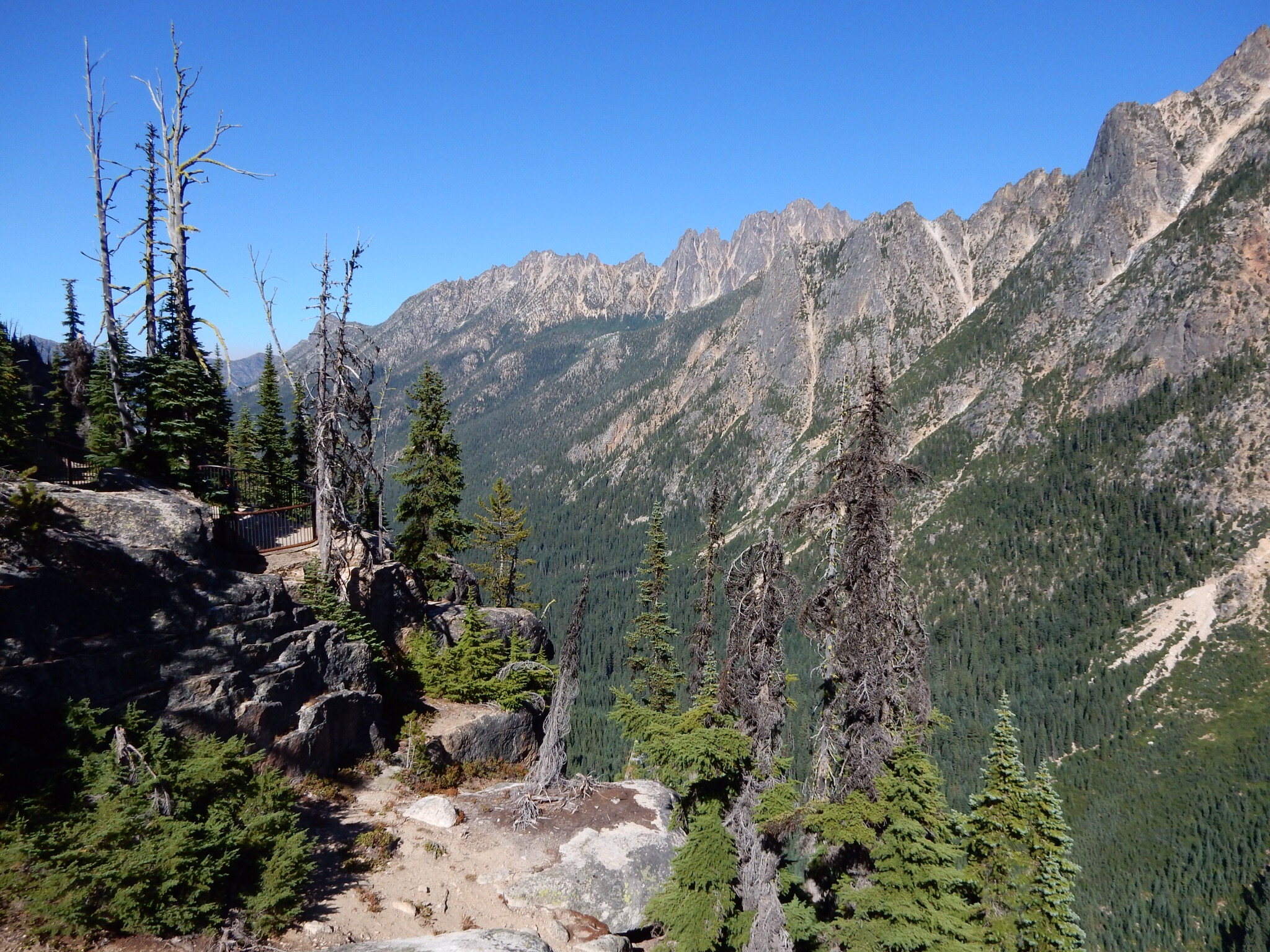 Washington Pass overlook.