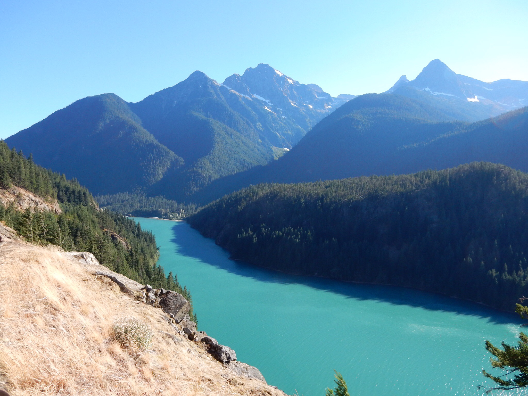 South leg of Diablo Lake.