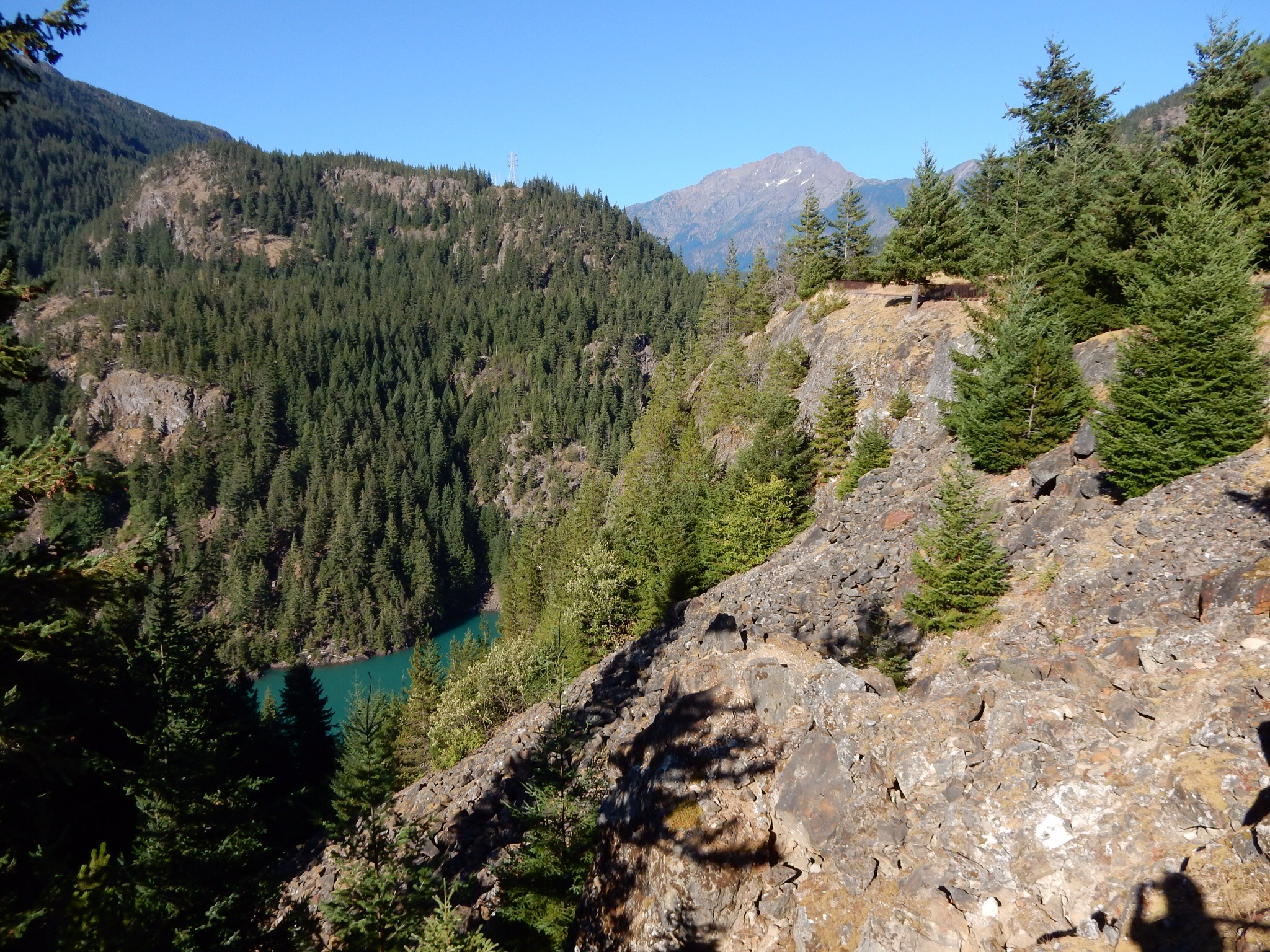 West leg of Diablo Lake.