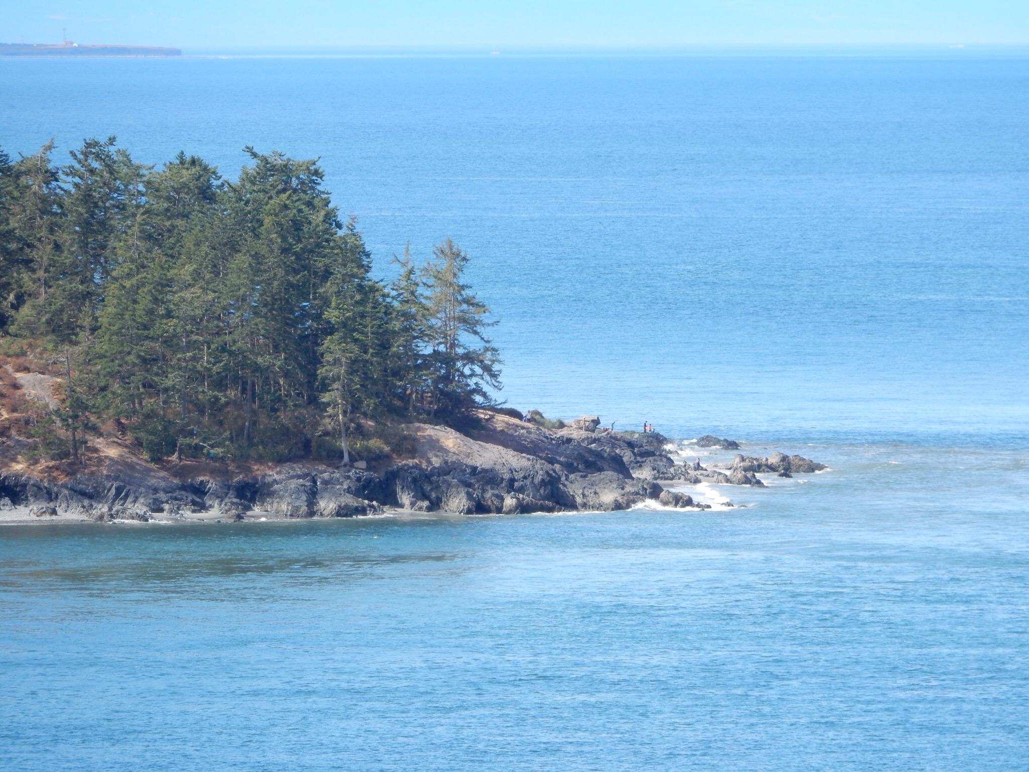 A distant point from Deception Pass.