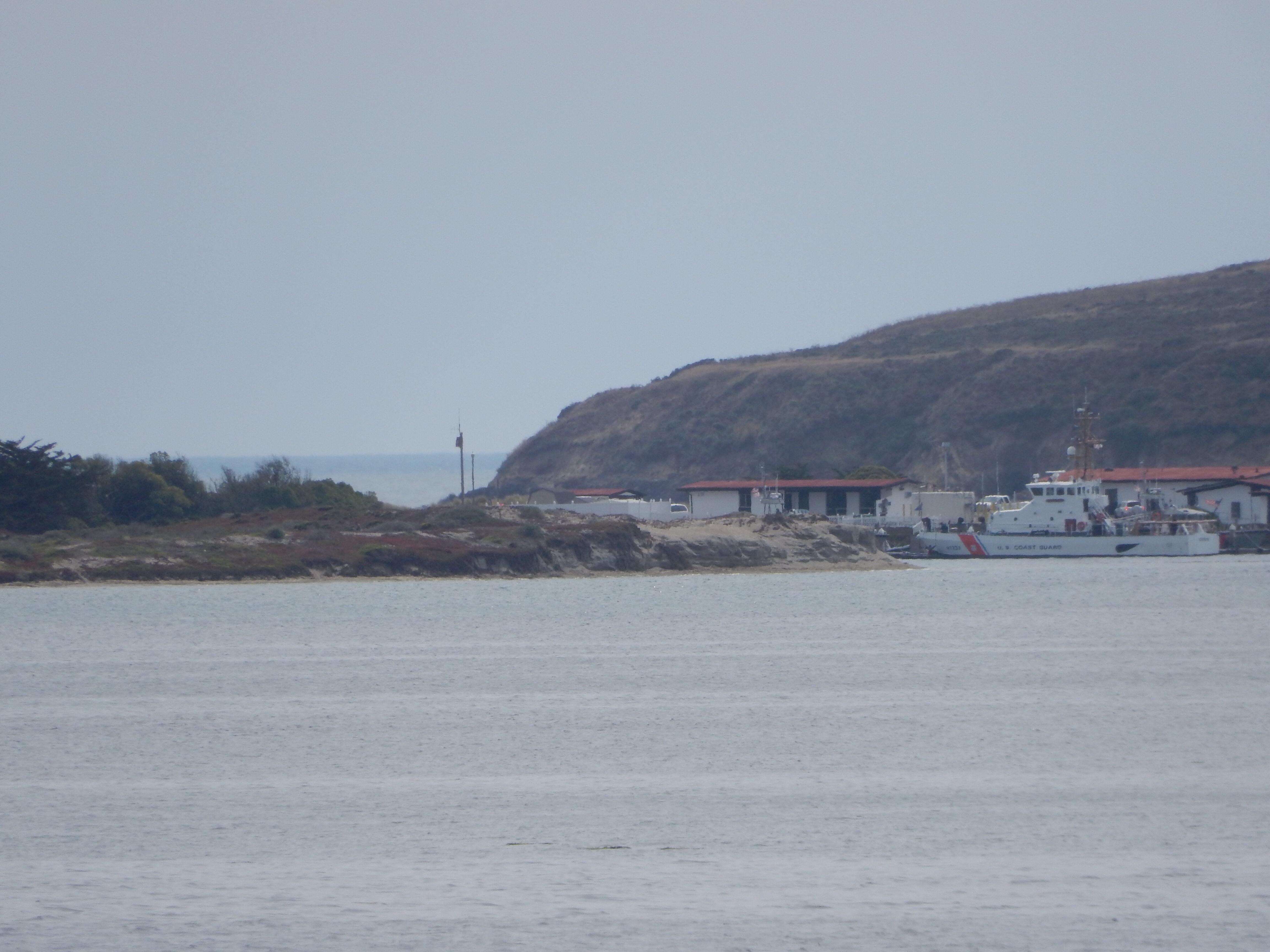 The Coast Guard station on Bodega Bay.