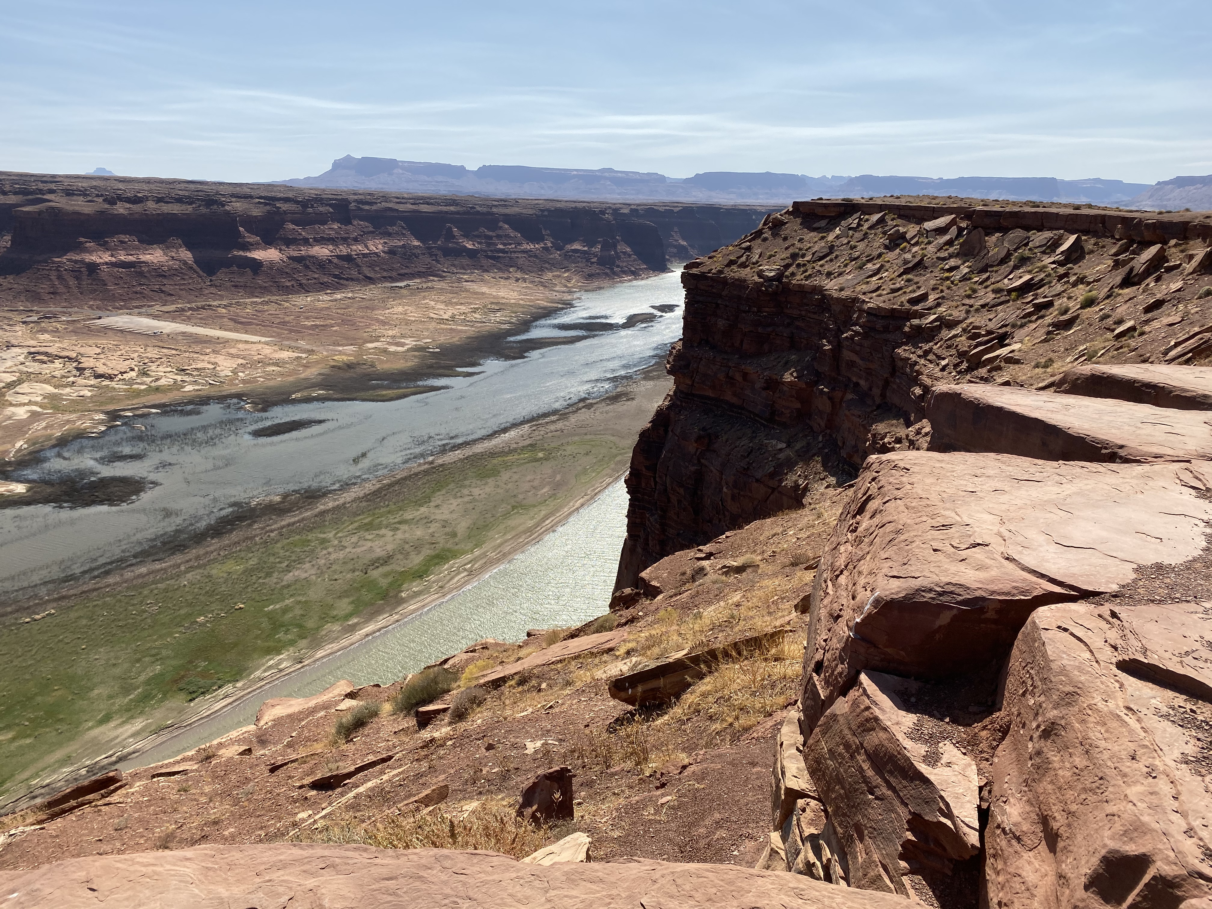 Colorado River downstream from the Hite Overlook.