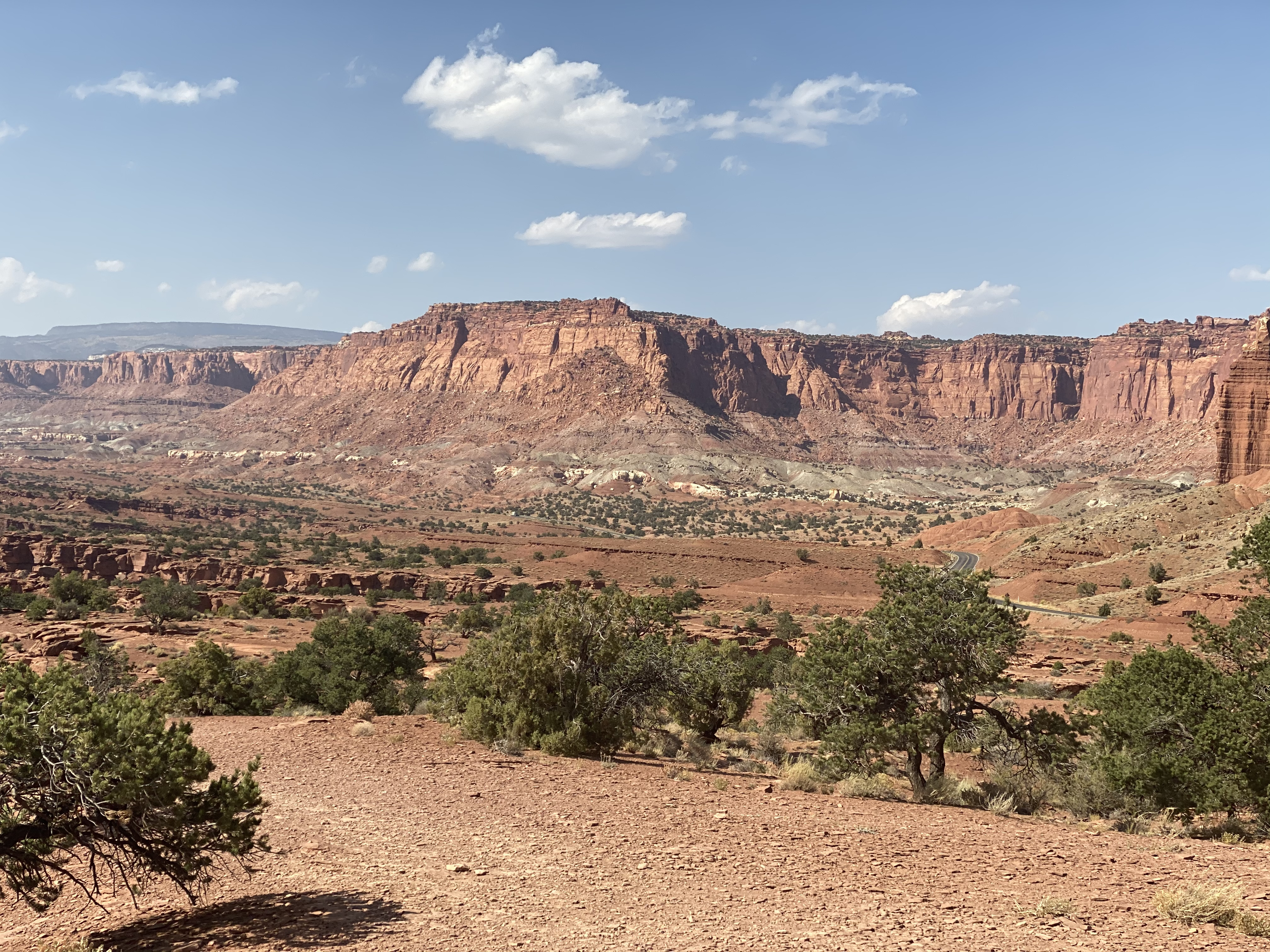 Capitol Reef from Panorama Point.