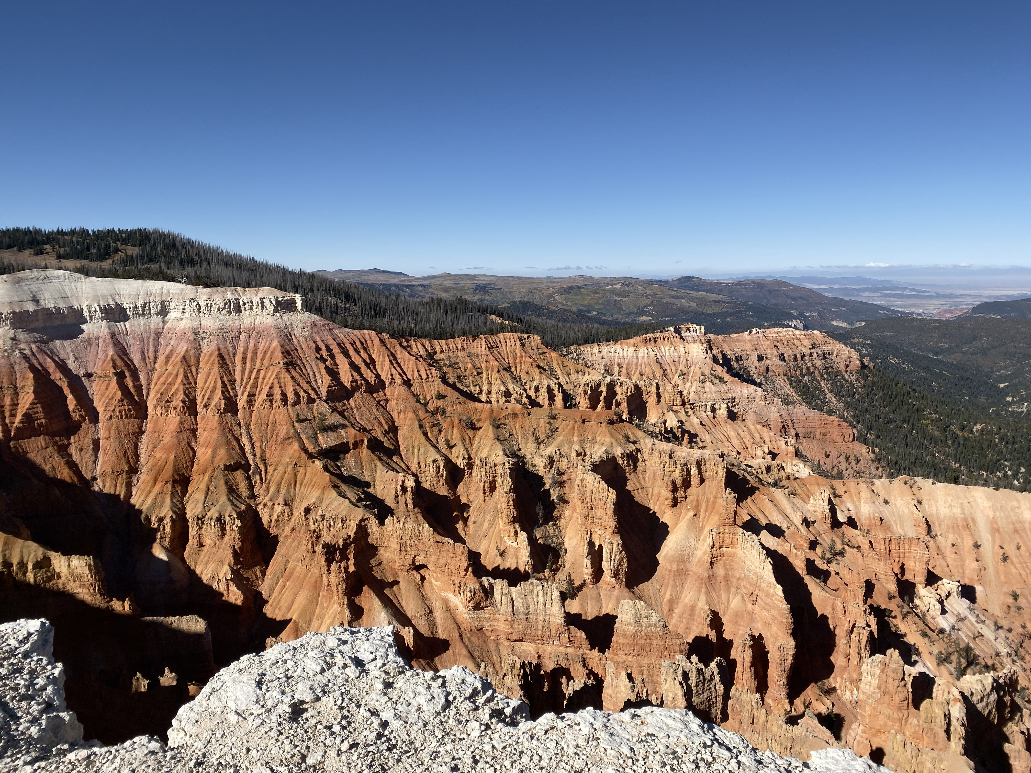 Cedar Breaks from the visitor's center overlook.
