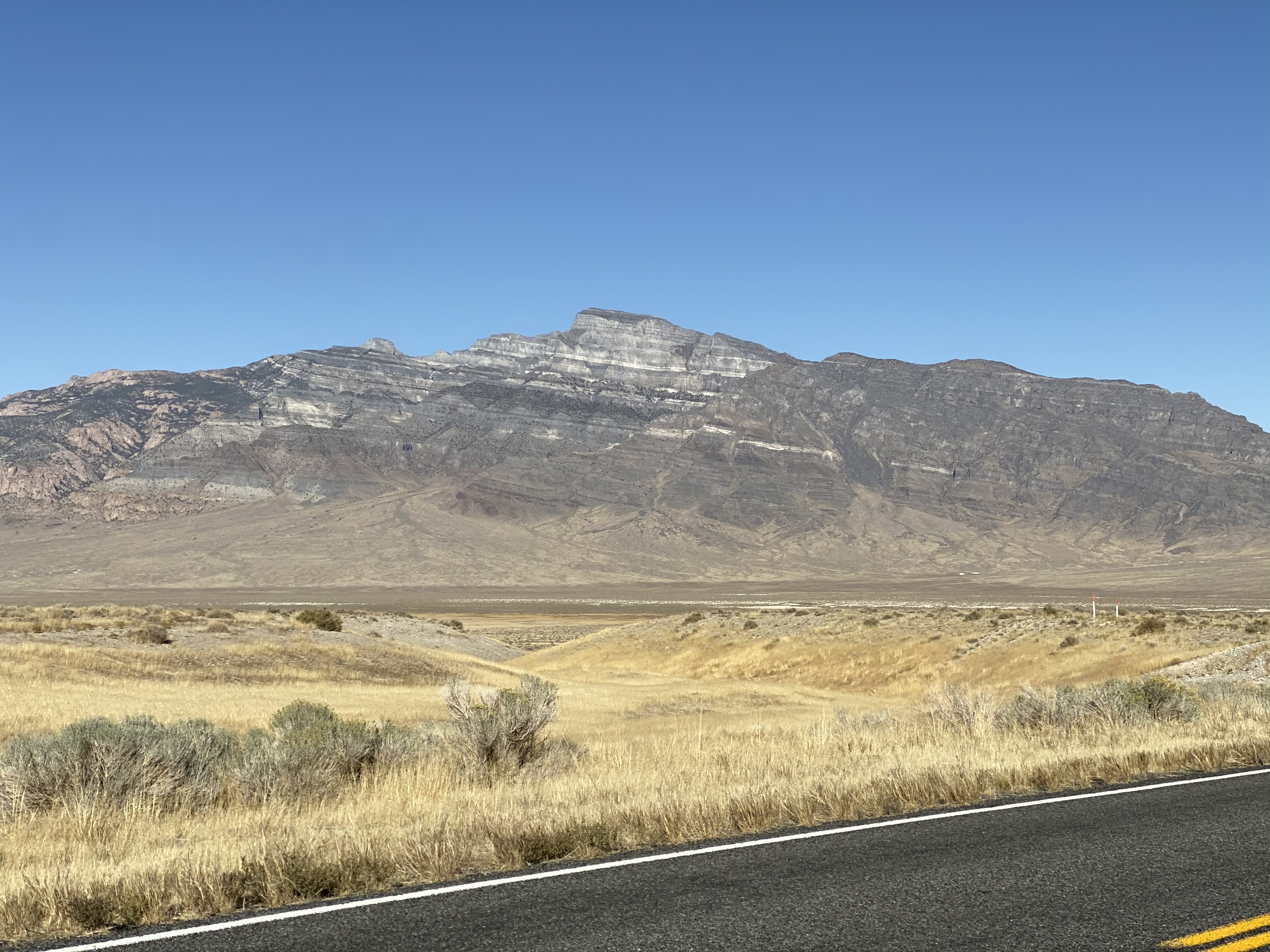 Mountains north of US50 just east of the Nevada/Utah border.