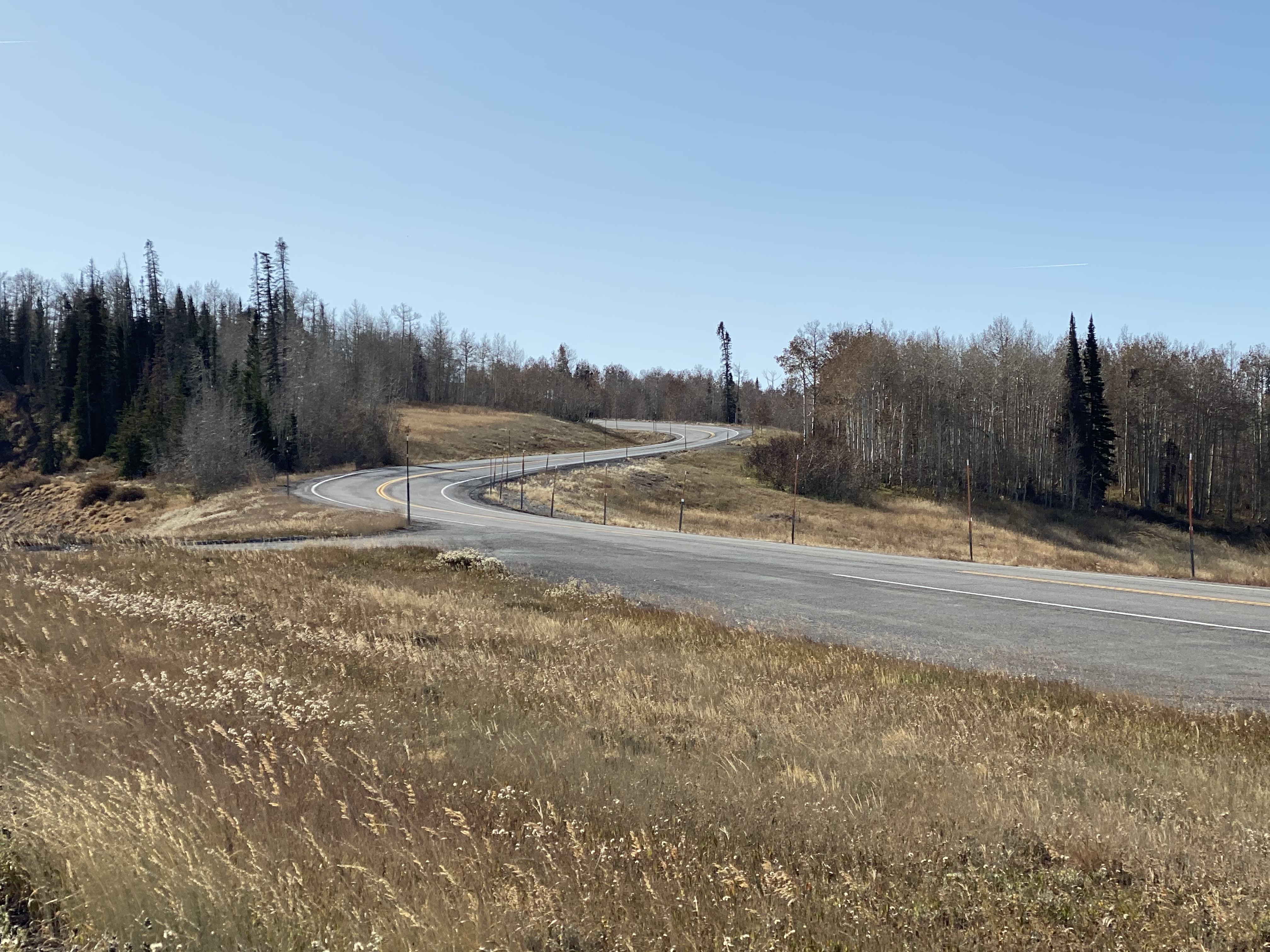 A view from UT31 between Fairview and Huntington.