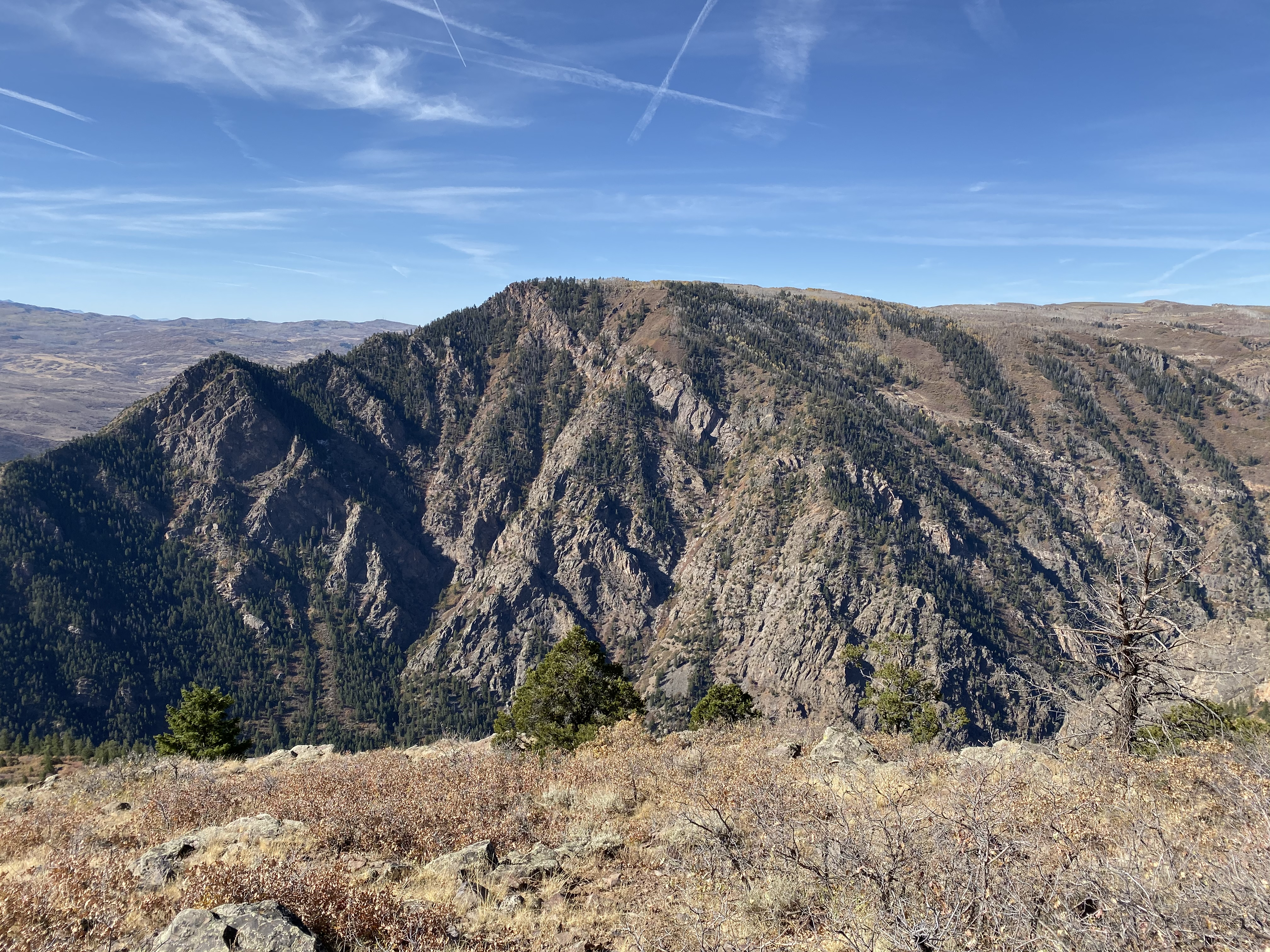 Black Canyon from the Hermit's Rest overlook.