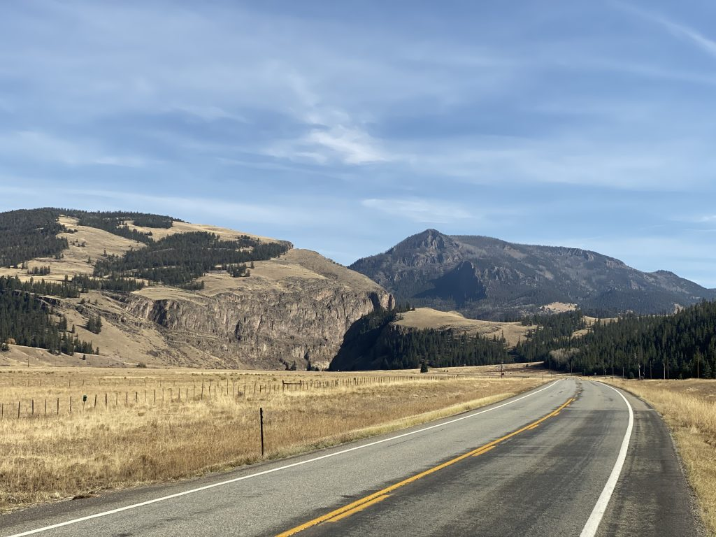 About to dive into yet another canyon on CO149 east of Creede.