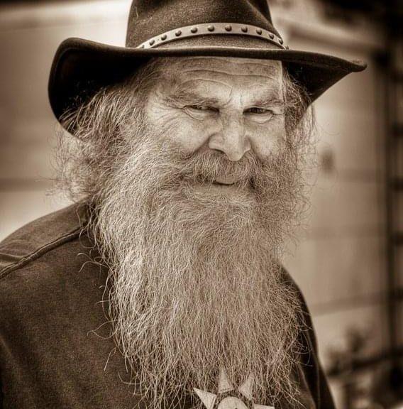 The late, great, Redbeard Emeritus, circa 2010. Photo copyright 2010 ML Price.